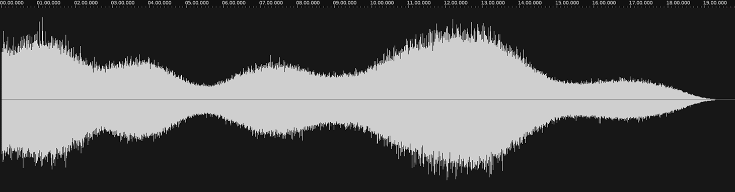 PaulStretch waveform after processing